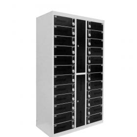 Safelock Laptop - Armoire de chargement - avec verrouillage à code numérique pour 24 ordinateurs portables ou tablettes